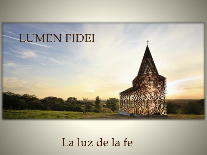 LUMEN FIDEI