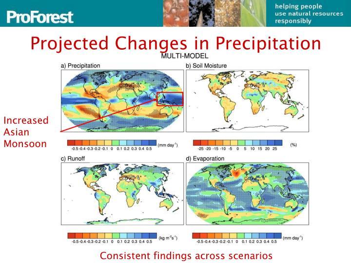 Increased Asian Monsoon