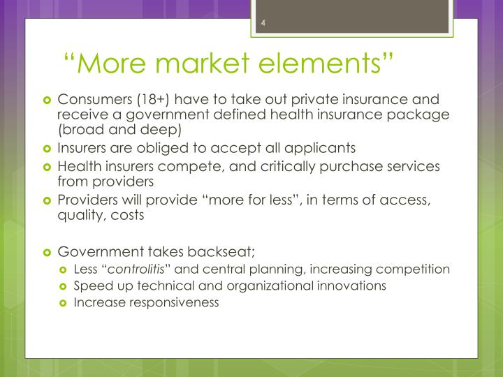 """""""More market elements"""""""