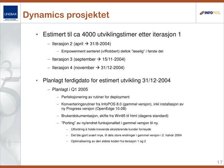 Dynamics prosjektet