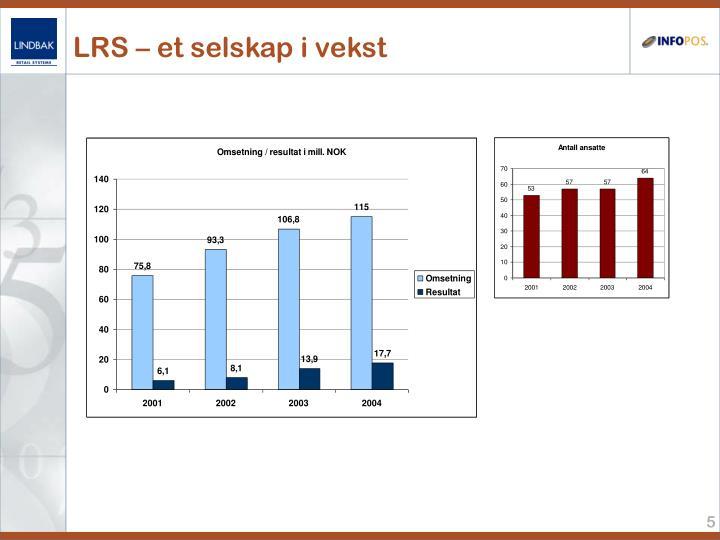 LRS – et selskap i vekst