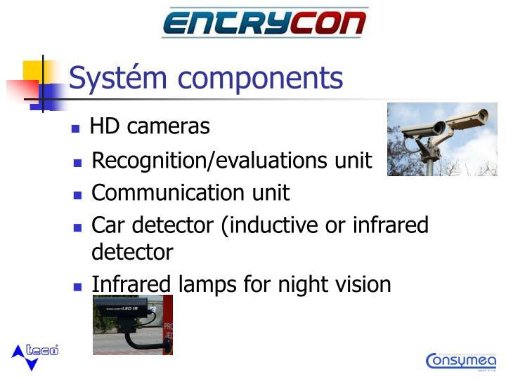 Systém components