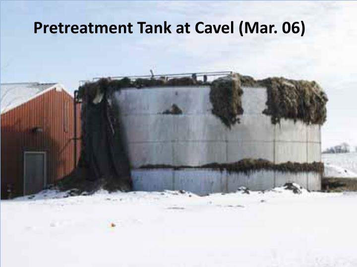Pretreatment Tank at Cavel (Mar. 06)