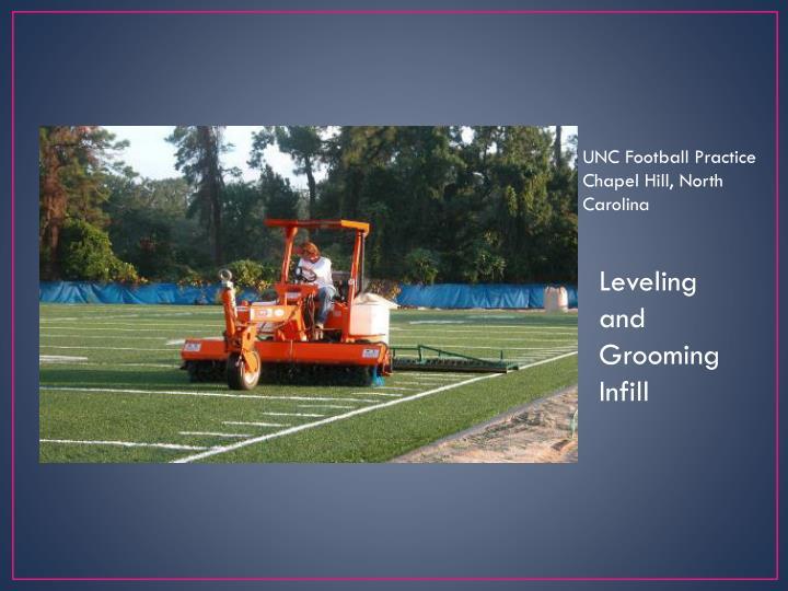UNC Football Practice    Chapel Hill, North Carolina