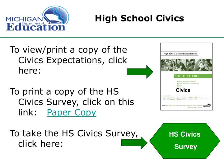 High School Civics