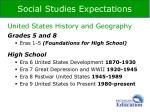 social studies expectations1