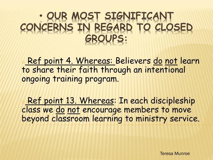 Ref point 4. Whereas: