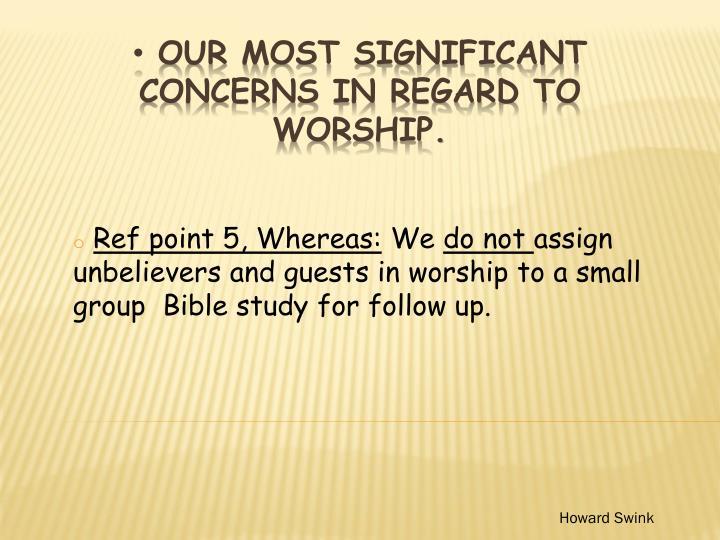 Ref point 5, Whereas: