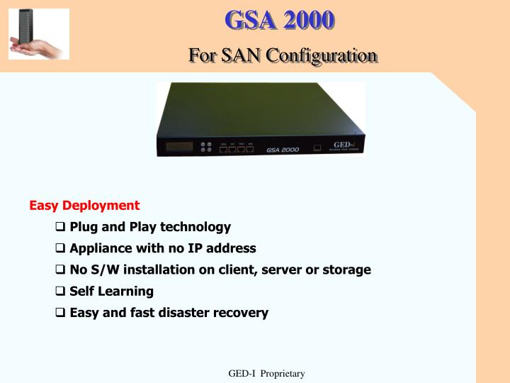 GSA 2000