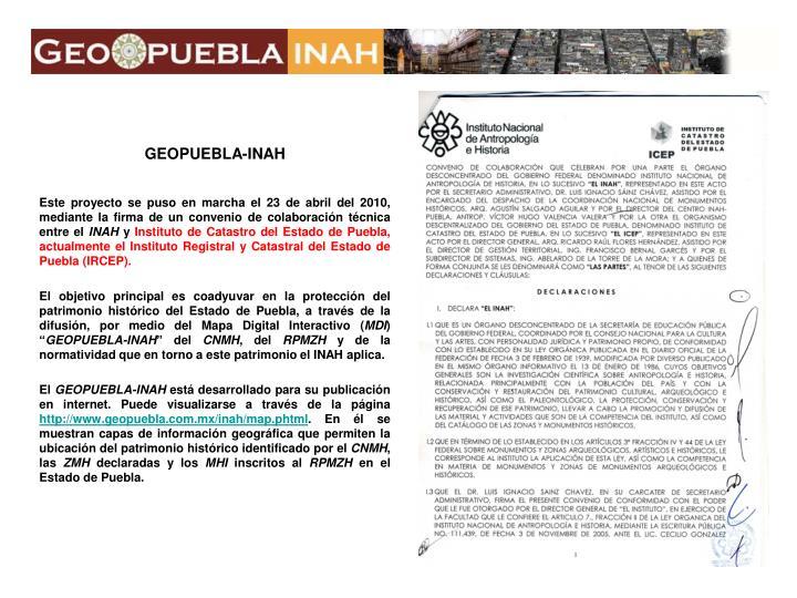 GEOPUEBLA-INAH