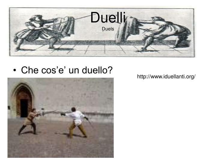 Duelli