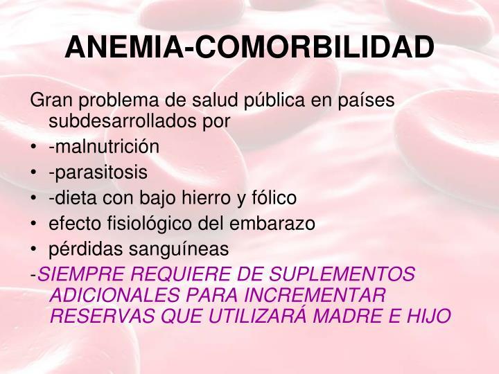 ANEMIA-COMORBILIDAD