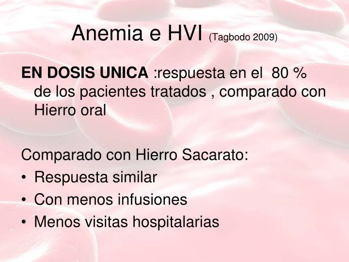 Anemia e HVI