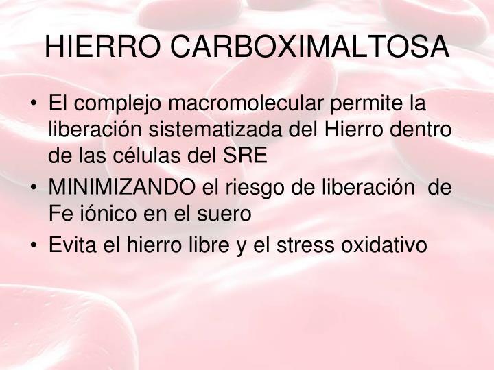 HIERRO CARBOXIMALTOSA