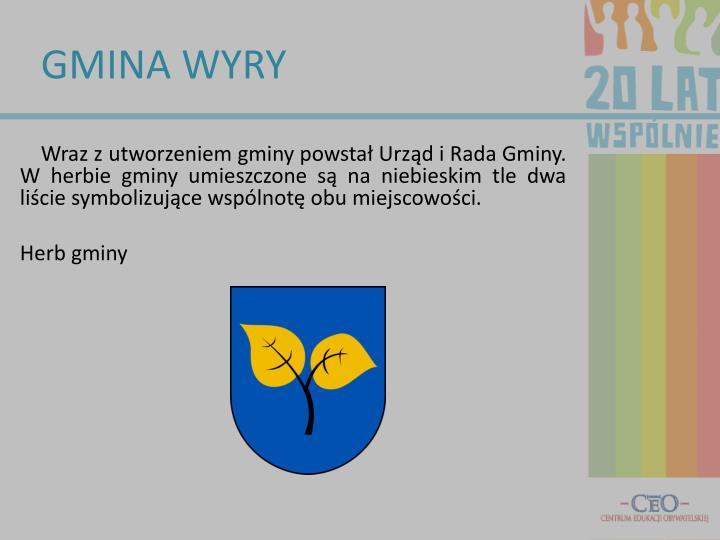 GMINA WYRY