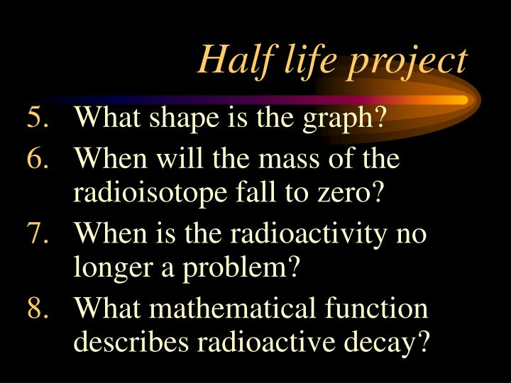 Half life project