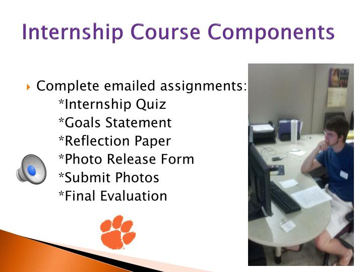 Internship Course Components