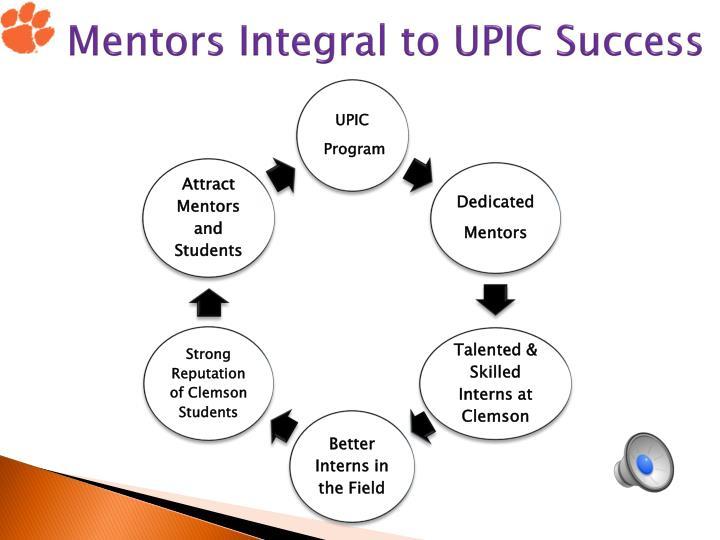 Mentors Integral to UPIC Success