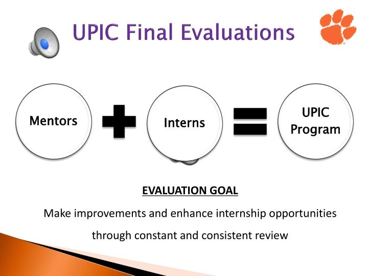 UPIC Final Evaluations