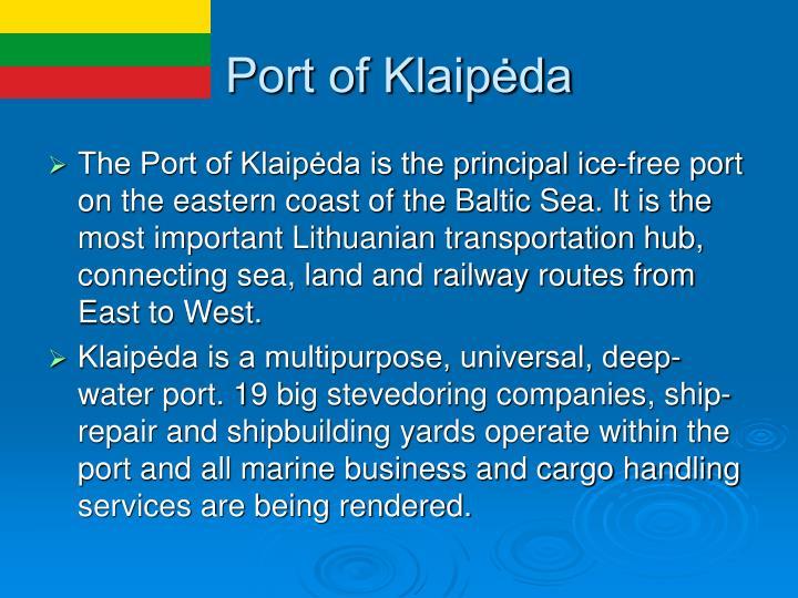 Port of Klaipėda