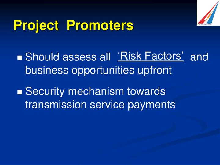 Project  Promoters