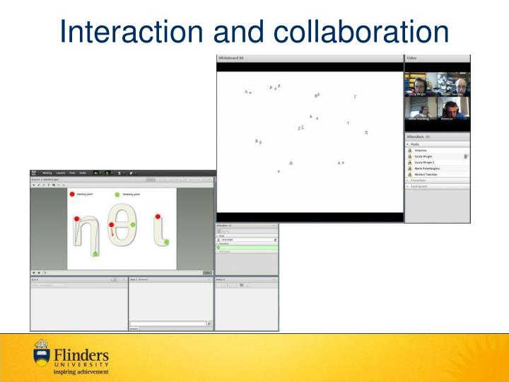 Interaction and collaboration