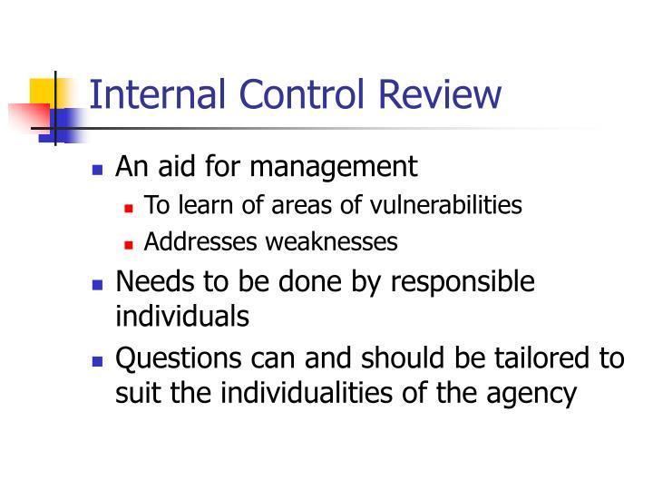 A literature review of internal control deficiencies ...