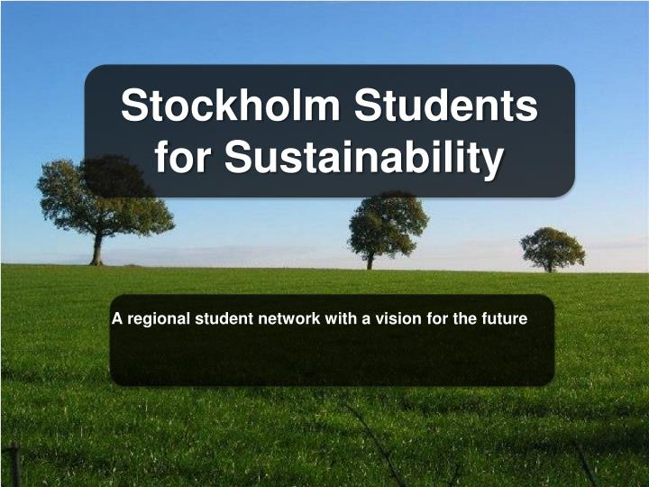 Stockholm Students for