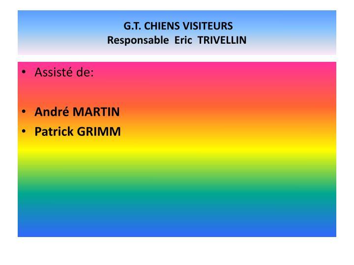G.T. CHIENS VISITEURS