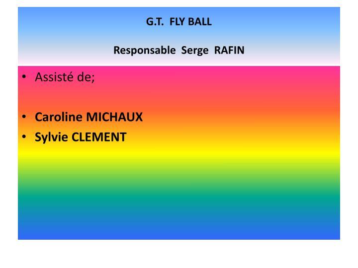 G.T.  FLY BALL
