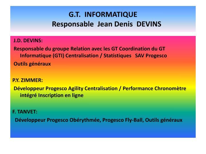 G.T.  INFORMATIQUE