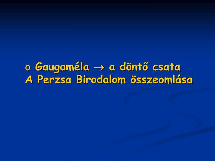 Gaugaméla