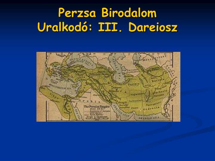 Perzsa Birodalom