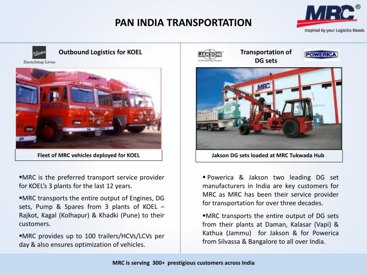 PAN INDIA TRANSPORTATION