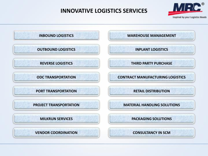 INNOVATIVE LOGISTICS SERVICES