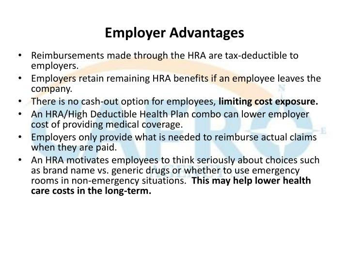 Employer Advantages
