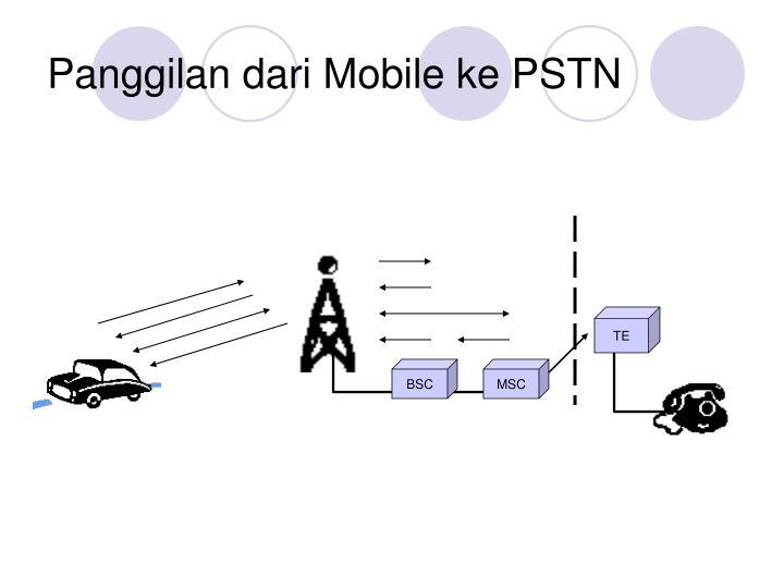 Panggilan dari Mobile ke PSTN
