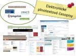 elektronick plnotextov asopisy