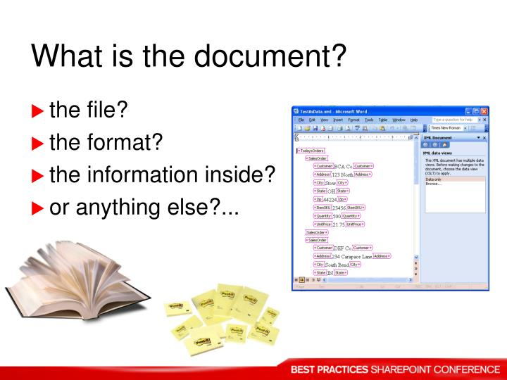 What is the document?