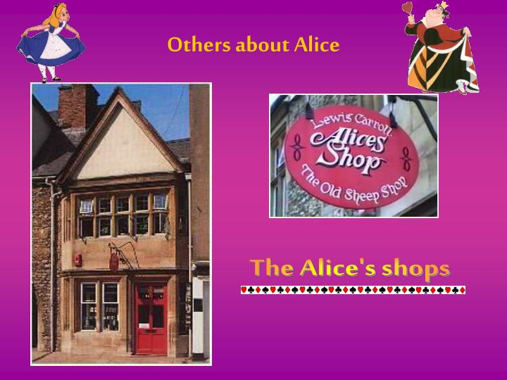 Others about Alice