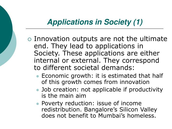 Applications in Society (1)