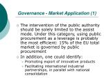 governance market application 1