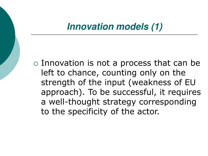 Innovation models (1)