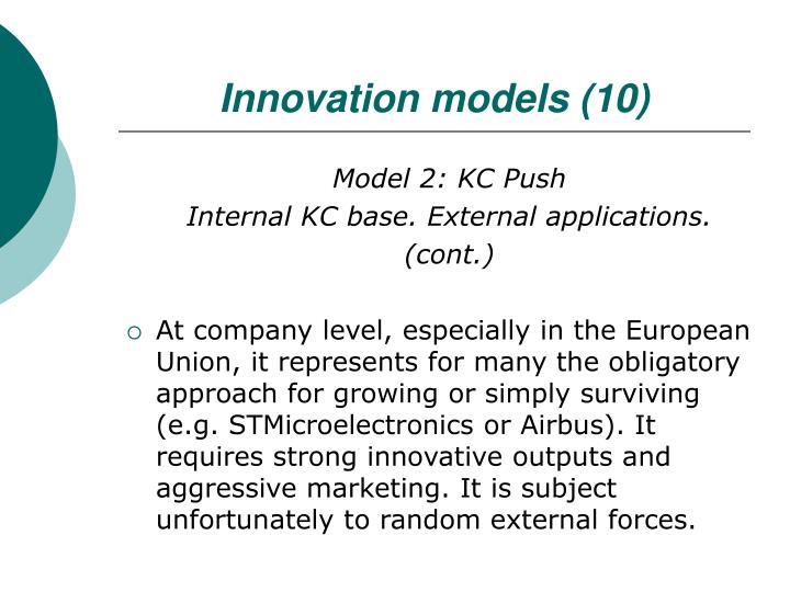 Innovation models (10)