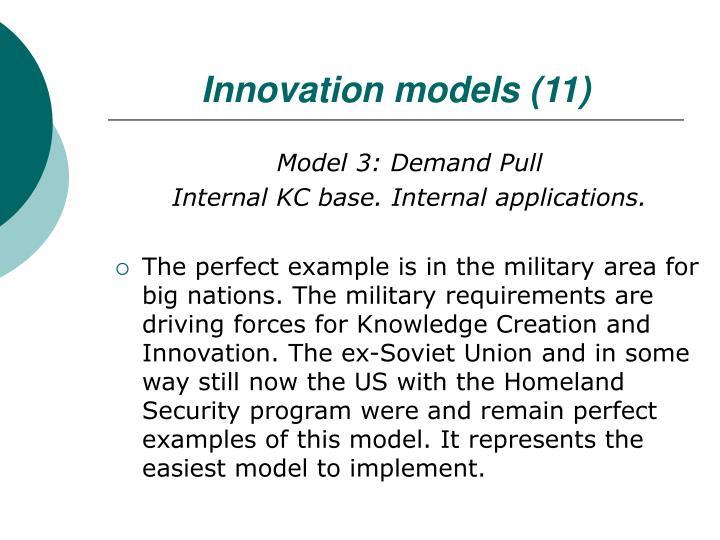 Innovation models (11)