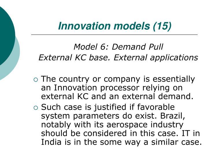 Innovation models (15)