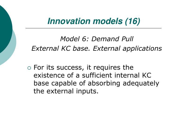 Innovation models (16)