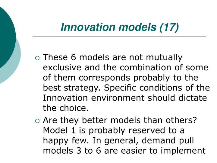 Innovation models (17)