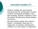 innovation models 17