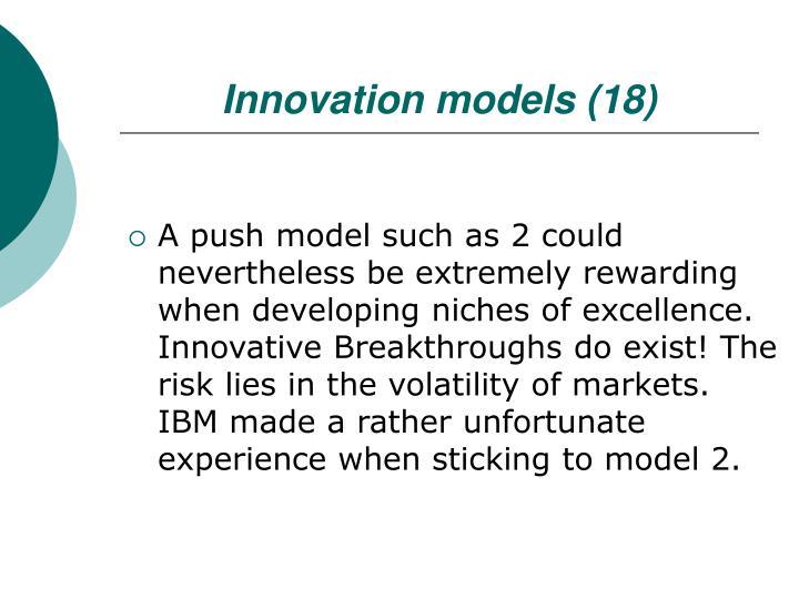 Innovation models (18)